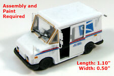N Scale - Showcase Miniatures - 138 - Grumann LLV Postal Office Delivery Truck - Undecorated