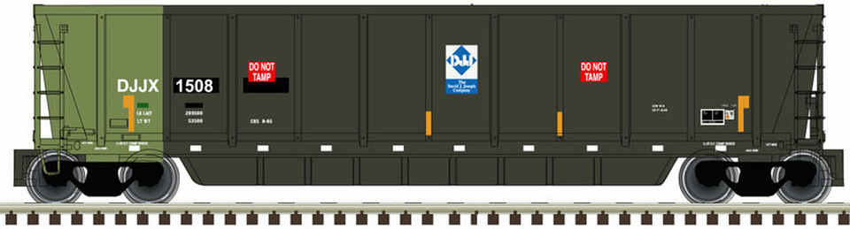 N Scale - Atlas - 50 004 298 - Gondola, Bathtub, ACF Coalveyor - David J. Joseph Company - 1501