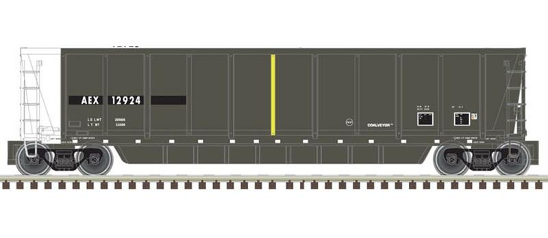 N Scale - Atlas - 50 004 293 - Gondola, Bathtub, ACF Coalveyor - The Andersons - 12925