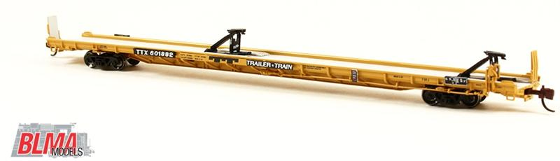 N Scale - BLMA - 13017 - Flatcar, ACF-F89-J - TTX Company - 601882
