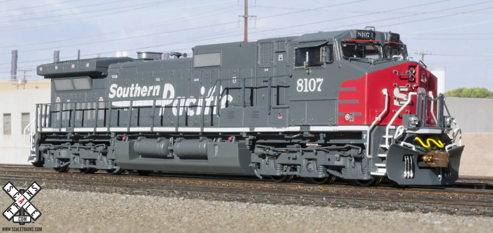 N Scale - ScaleTrains.com - SXT10880 - Locomotive, Diesel, GE C44-9W - Southern Pacific - 8108