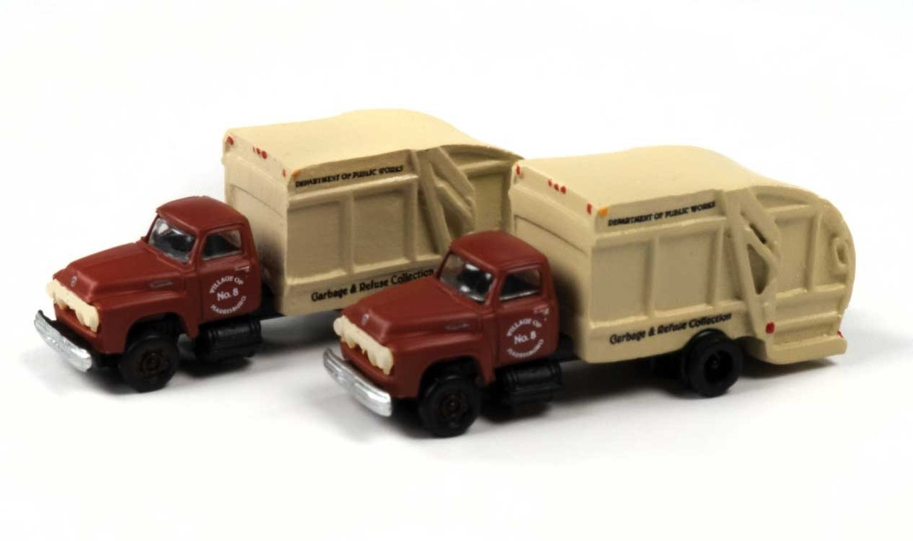N Scale - Classic Metal Works - 50407 - Truck, Ford F-Series Heavy Duty - Company - Harrisburg Department of Public Works