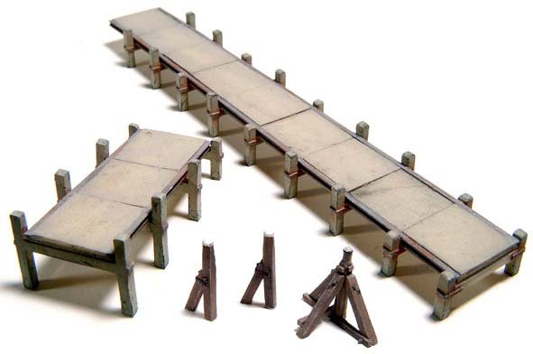 N Scale - Artitec - 14.103 - Landing stage - Undecorated