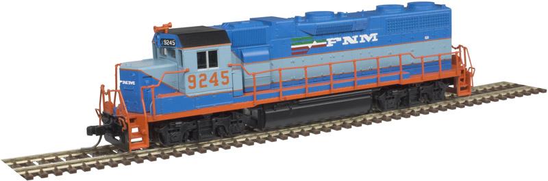 N Scale - Atlas - 40 003 618 - Locomotive, Diesel, EMD GP38-2 - Ferrocarriles Nacionales de México - 9245