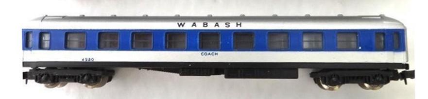 N Scale - Lima - 362 - Passenger Car, UIC, Type Y - Wabash - 4230