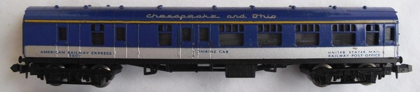 N Scale - Lima - 375 - Passenger Car, British Rail, Mark 1 Coach - Chesapeake & Ohio - 2602