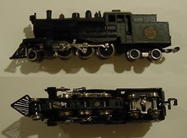 N Scale - Lima - 220250A - Locomotive, Steam, 2-6-4T - Canadian National