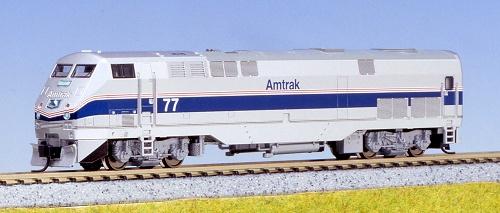 N Scale - Kato USA - 176-6002 - Locomotive, Diesel, GE P42 Genesis - Amtrak - 77