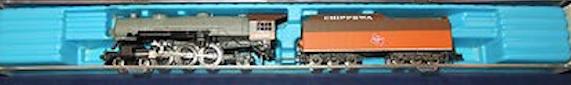 N Scale - Con-Cor - 0003-05601D - Locomotive, Steam, 4-6-2, Pacific - Milwaukee Road - 6138