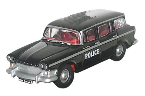 N Scale - Oxford Diecast - NSS004 - Automobile, Humber, Super Snipe - Police Dept - EBT 366E