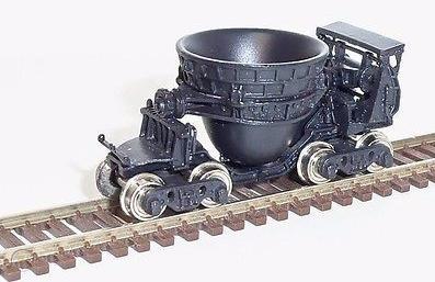 N Scale - Overland Models - 2812.1 - Cinder Car - Undecorated