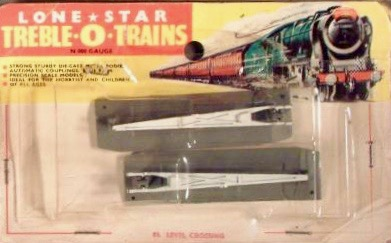 N Scale - Lone Star - EL.88 - Crossing Track - Undecorated