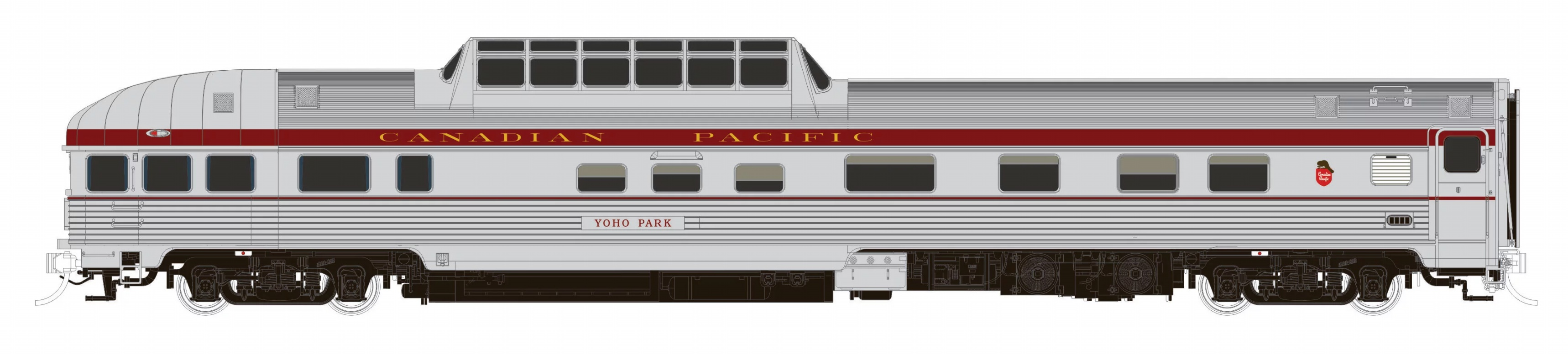 N Scale - Rapido Trains - 550002 - Passenger - Canadian Pacific - 10-pack