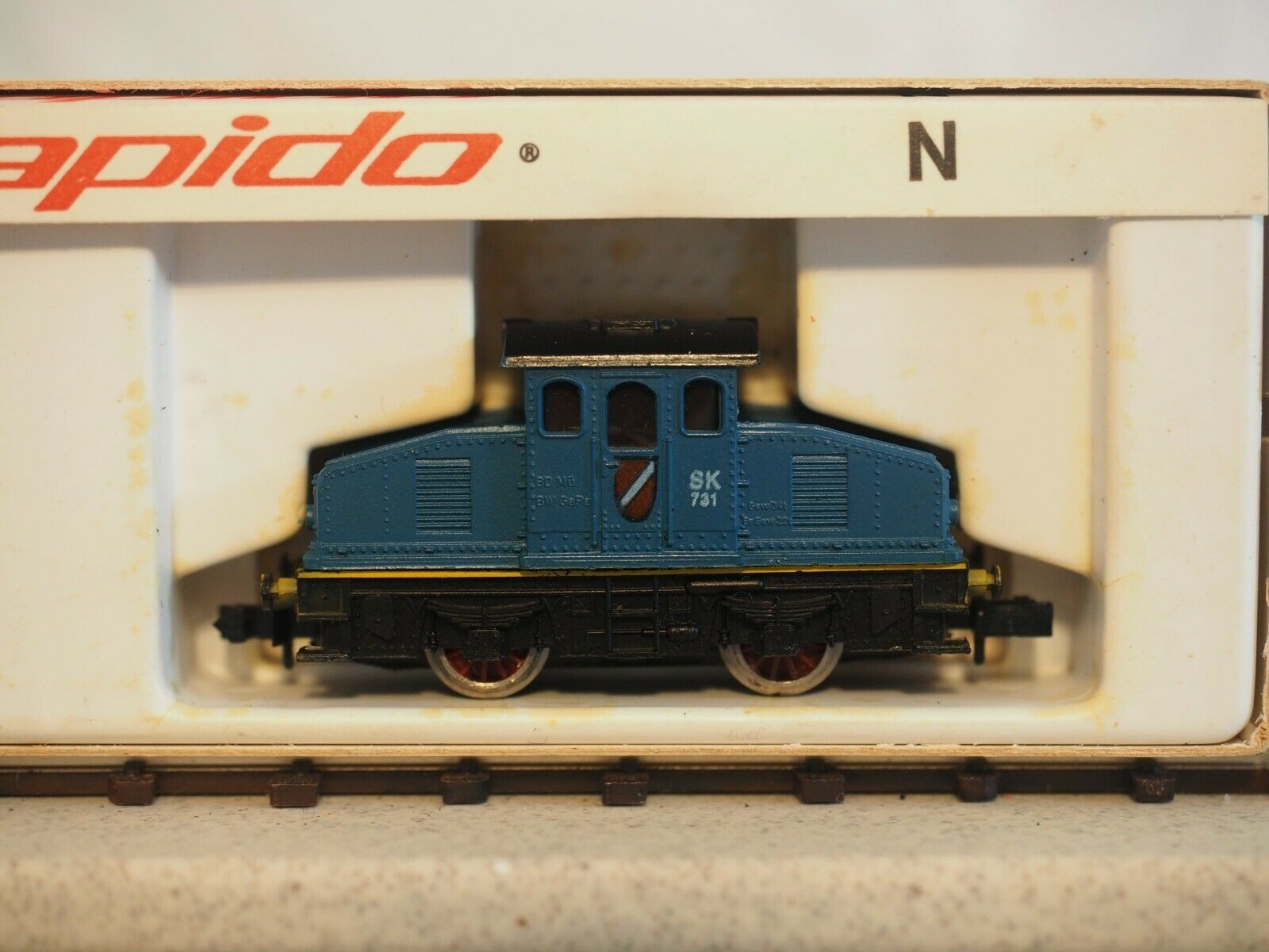 N Scale - Arnold - 0206 - Engine, Diesel, Industrial Switcher - Painted/Lettered - 731