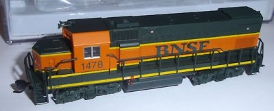 N Scale - Atlas - 2100 - Mixed Freight Consist, North America, Transition Era - Burlington Northern Santa Fe