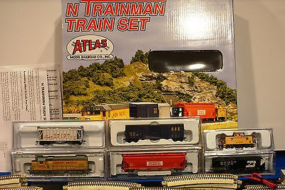 N Scale - Atlas - 2116 - Mixed Freight Consist, North America, Transition Era - Union Pacific