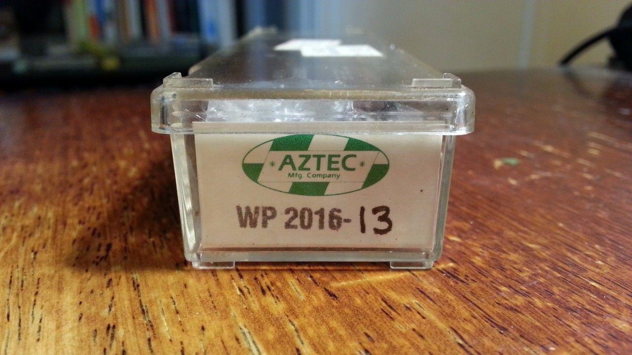 N Scale - Aztec - WP2016-13 - Boxcar, 50 Foot, Steel, Plug Door - Western Pacific - 66287