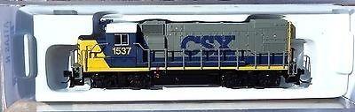 N Scale - Atlas - 2101-A - Locomotive, Diesel, EMD GP15-1 - CSX Transportation - 1537