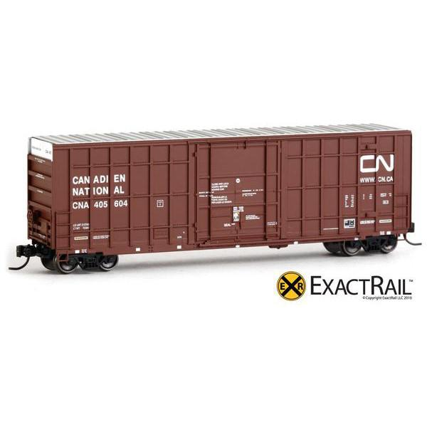 N Scale - ExactRail - EN-50702-2 - Canadian National - 405658