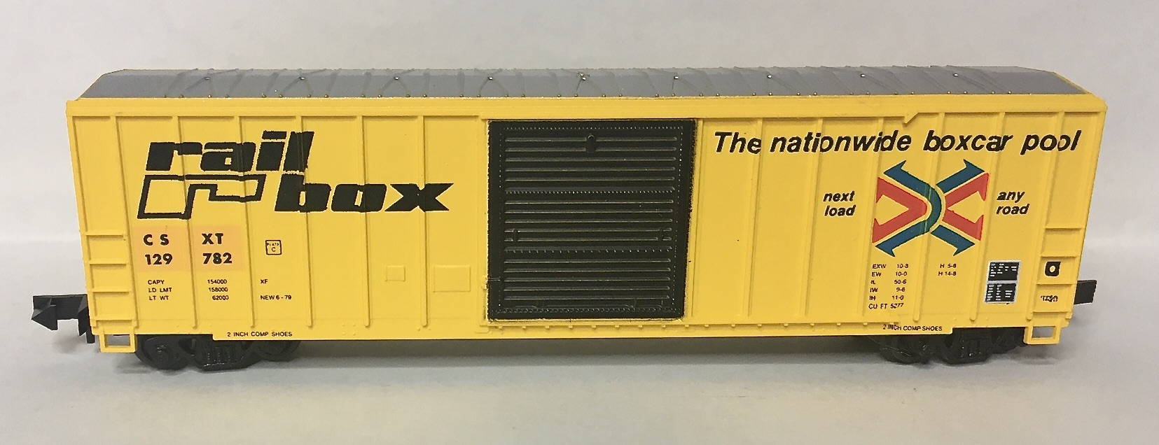 N Scale - Roundhouse - 8839 - Boxcar, 50 Foot, FMC, 5347 - CSX Transportation - 129782