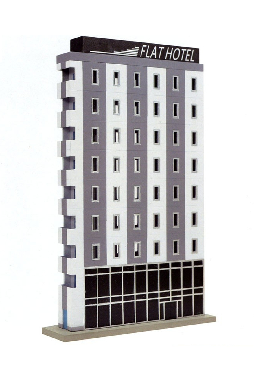 N Scale - Tomix - 301097 - Structure, Commercial, High Rise - Painted/Unlettered
