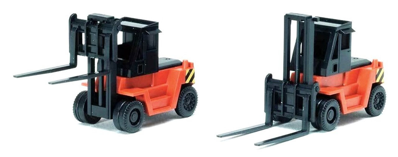 N Scale - Tomix - 3518 - Fork Lift - Painted/Unlettered