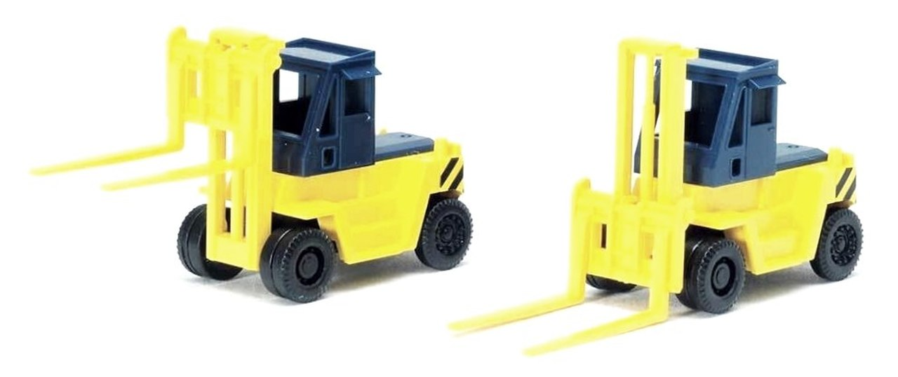 N Scale - Tomix - 3517 - Fork Lift - Painted/Unlettered