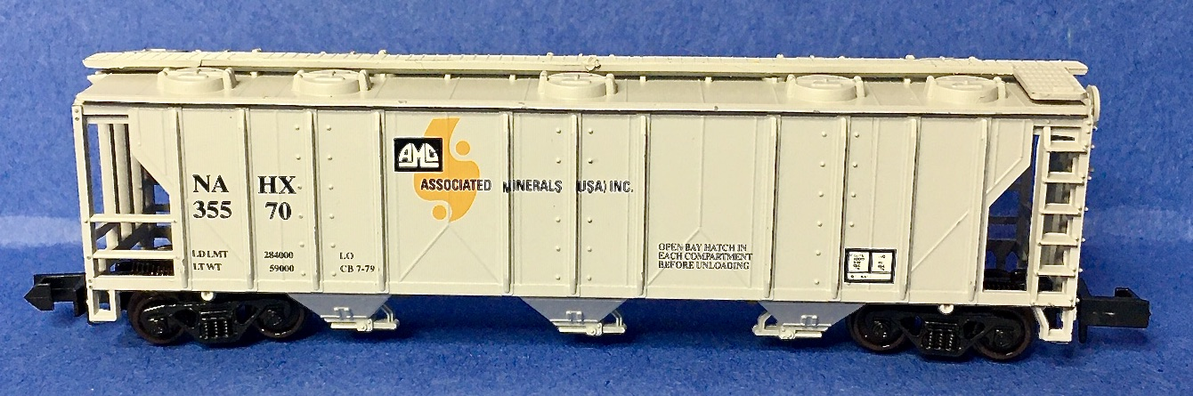 N Scale - S&R Special Edition Railroad Models - 509 - Covered Hopper, 3-Bay, PS2 2893 - Associated Materials USA, Inc - 35570