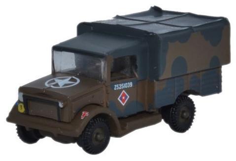 N Scale - Oxford Diecast - NMWD001 - Truck, Bedford, MW - British Army - Z5251039