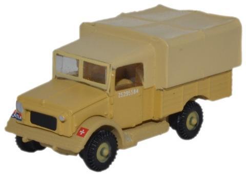 N Scale - Oxford Diecast - NMWD002 - Truck, Bedford, MW - British Army - Z5295504