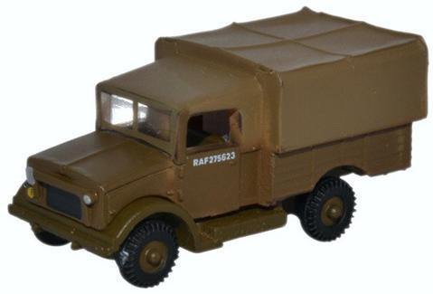 N Scale - Oxford Diecast - NMWD003 - Truck, Bedford, MW - Royal Air Force - RAF275623