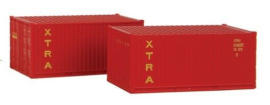 N Scale - Rolland - 599-202 - Container, 20 Foot, Corrugated, Dry - XTRA Lease - 211483 8
