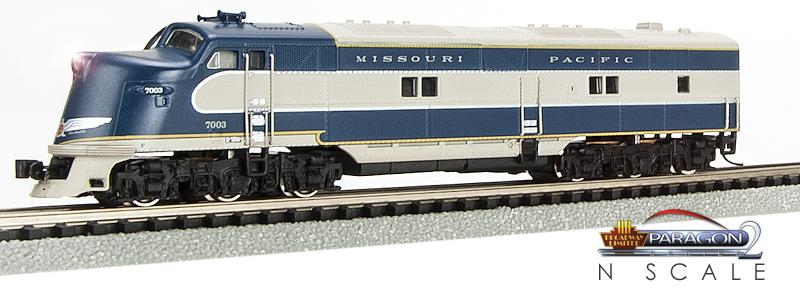 N Scale - Broadway Limited - 1662 - Locomotive, Diesel, EMD E6 - Missouri Pacific - 7003