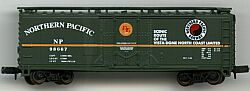 N Scale - Atlas - 33321 - Boxcar, 40 Foot, Steel Plug Door - Northern Pacific - 98667