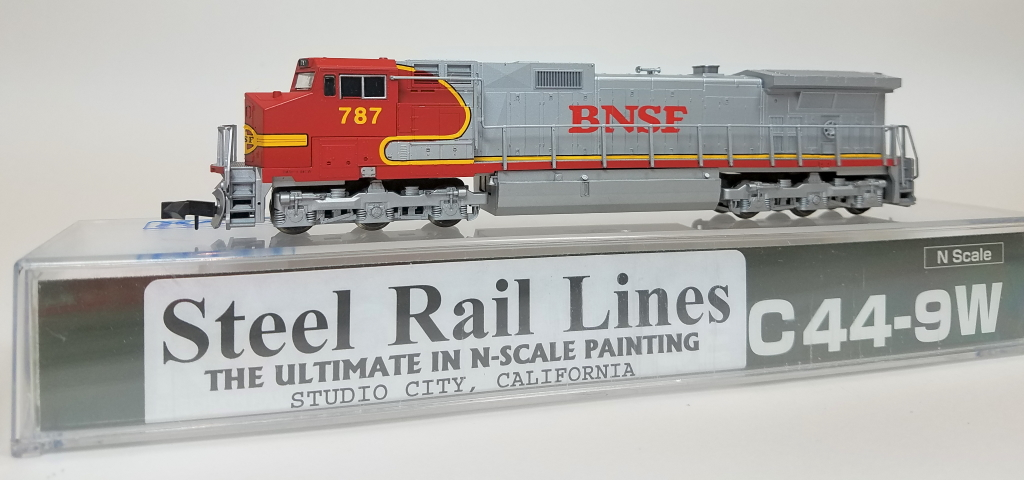 N Scale - Kato USA - 176-3603 Custom - Locomotive, Diesel, GE C44-9W - Burlington Northern Santa Fe - 787