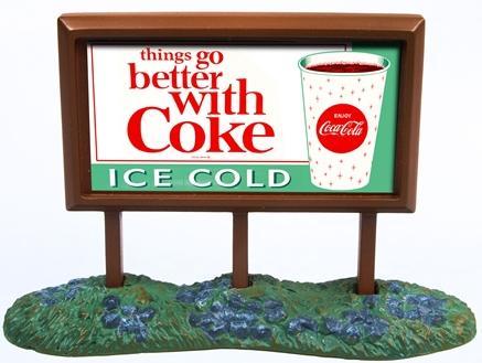 N Scale - Classic Metal Works - 21000 - Roadside Billboard - Coca-Cola - Coke