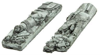 N Scale - Micro-Trains - 499 45 907 - Scrap Metal Load - Painted/Unlettered - Scrap Metal Load