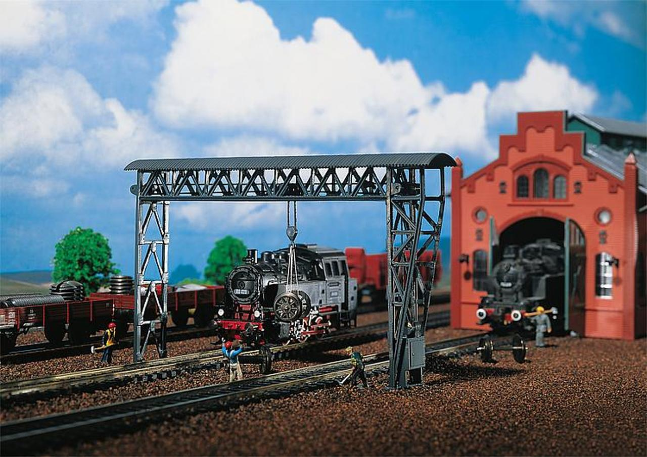 N Scale - Faller - 222199 - Gantry Crane - Industrial Structures