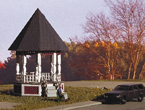 N Scale - Miller Engineering - N-G-100 - Gazebo - Residential Structures - Gazebo