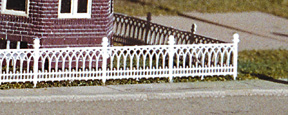 N Scale - Miller Engineering - N-F-303 - Fence - Residential Structures - Victorian Fence
