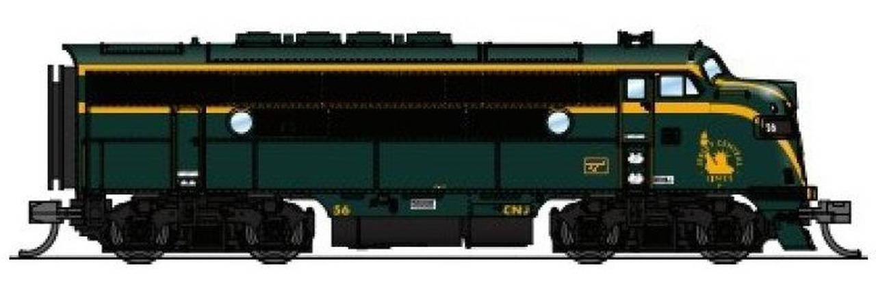 N Scale - Broadway Limited - 3484 - Locomotive, Diesel, EMD F3 - Southern Pacific - 6102A, 6102B