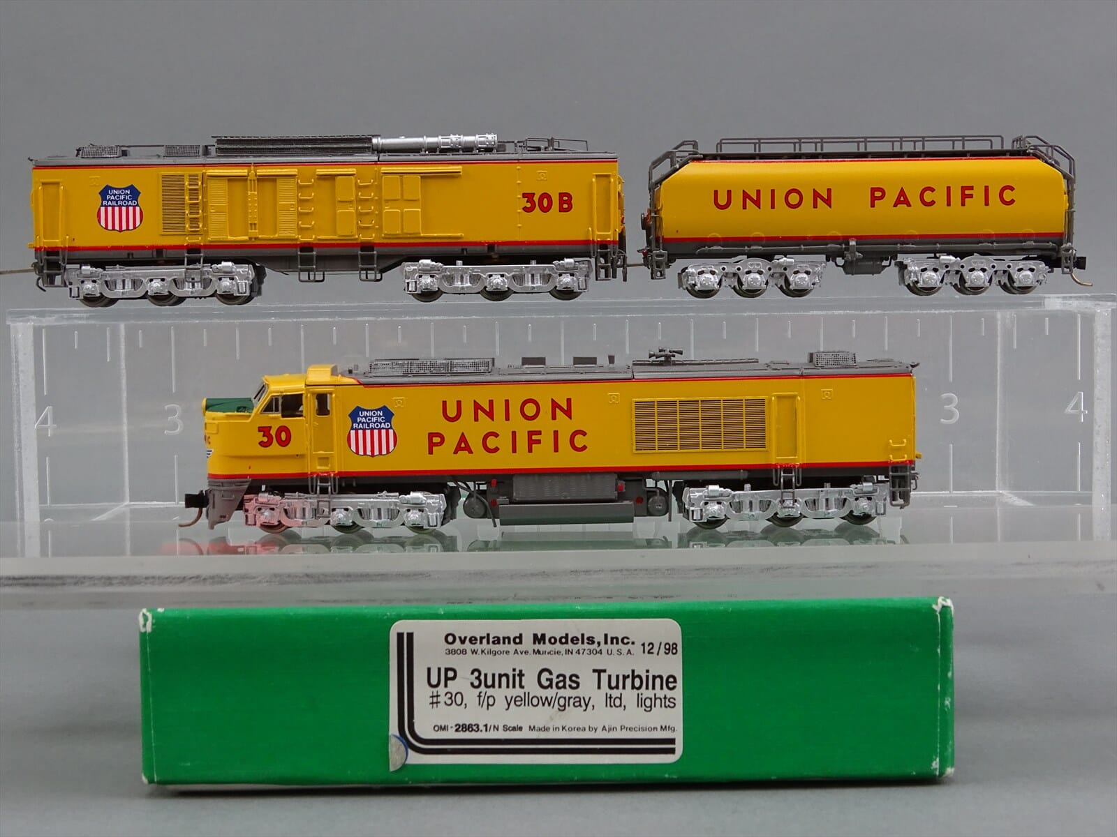 N Scale - Overland Models - 2863.1 - Locomotive, Gas Turbine-Electric - Union Pacific - 30