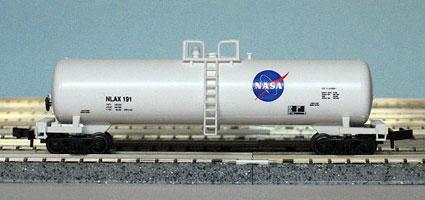 N Scale - Roundhouse - Custom - Tank Car, Single Dome, 50 Foot - NASA - 191