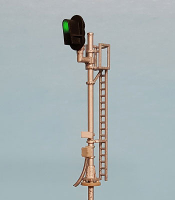 N Scale - Layout Dynamics - 5600 - single head D-Type signal - Undecorated - Signal