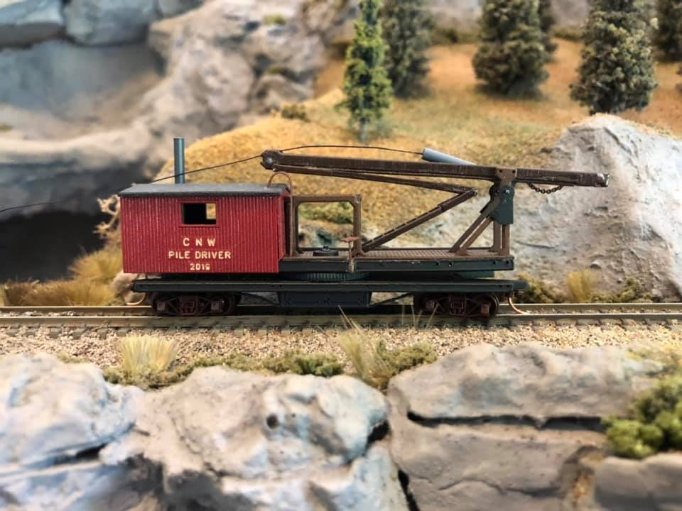N Scale - MJB Models - 19-25 - Maintenance of Way Equipment - Chicago & North Western - 2019