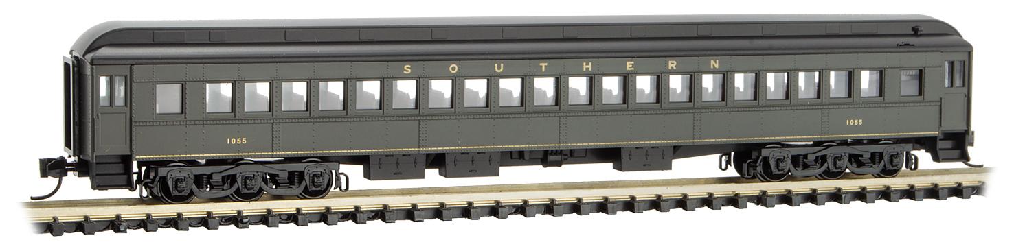 N Scale - Micro-Trains - 160 00 330 - Passenger Car, Heavyweight, Pullman - Southern - 1055