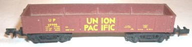 N Scale - Arnold - 0417 - Gondola, 40 Foot, Steel - Union Pacific