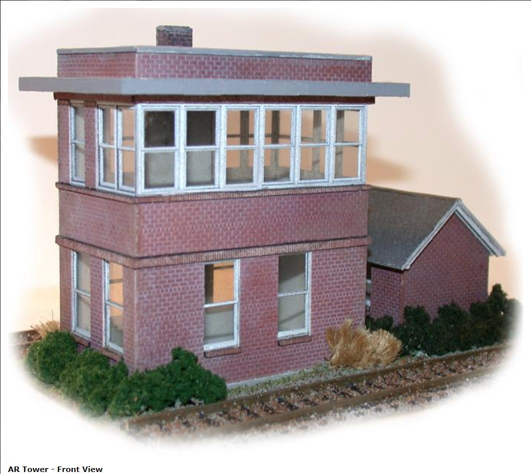 N Scale - N Scale Architect - 10014 - Interlocking Tower - Railroad Structures