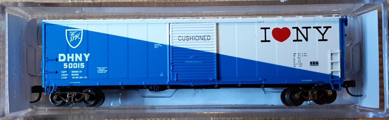 N Scale - YesterYear Models - YYM6703DH - Boxcar, 50 Foot, Steel - Delaware & Hudson - 50015