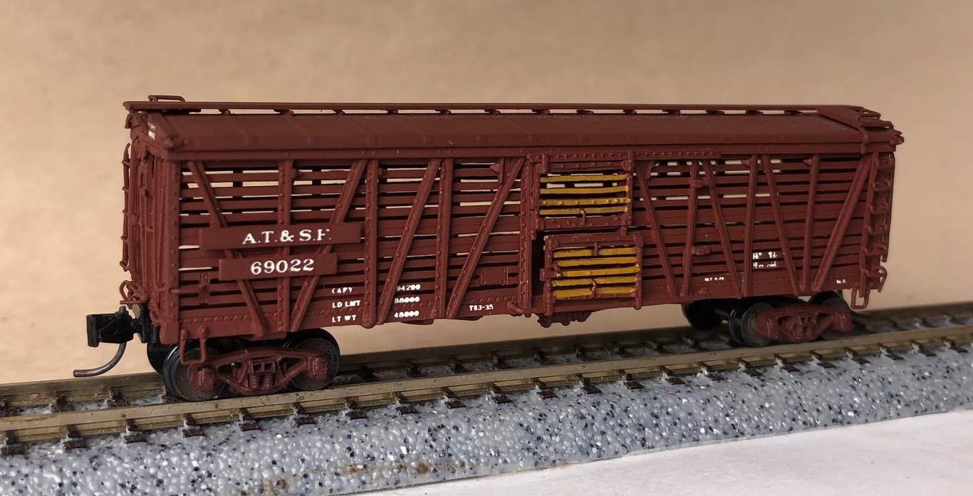 N Scale - Pecos River Brass - SK-Q - Boxcar, 40 Foot, Steel - Union Pacific - 69022